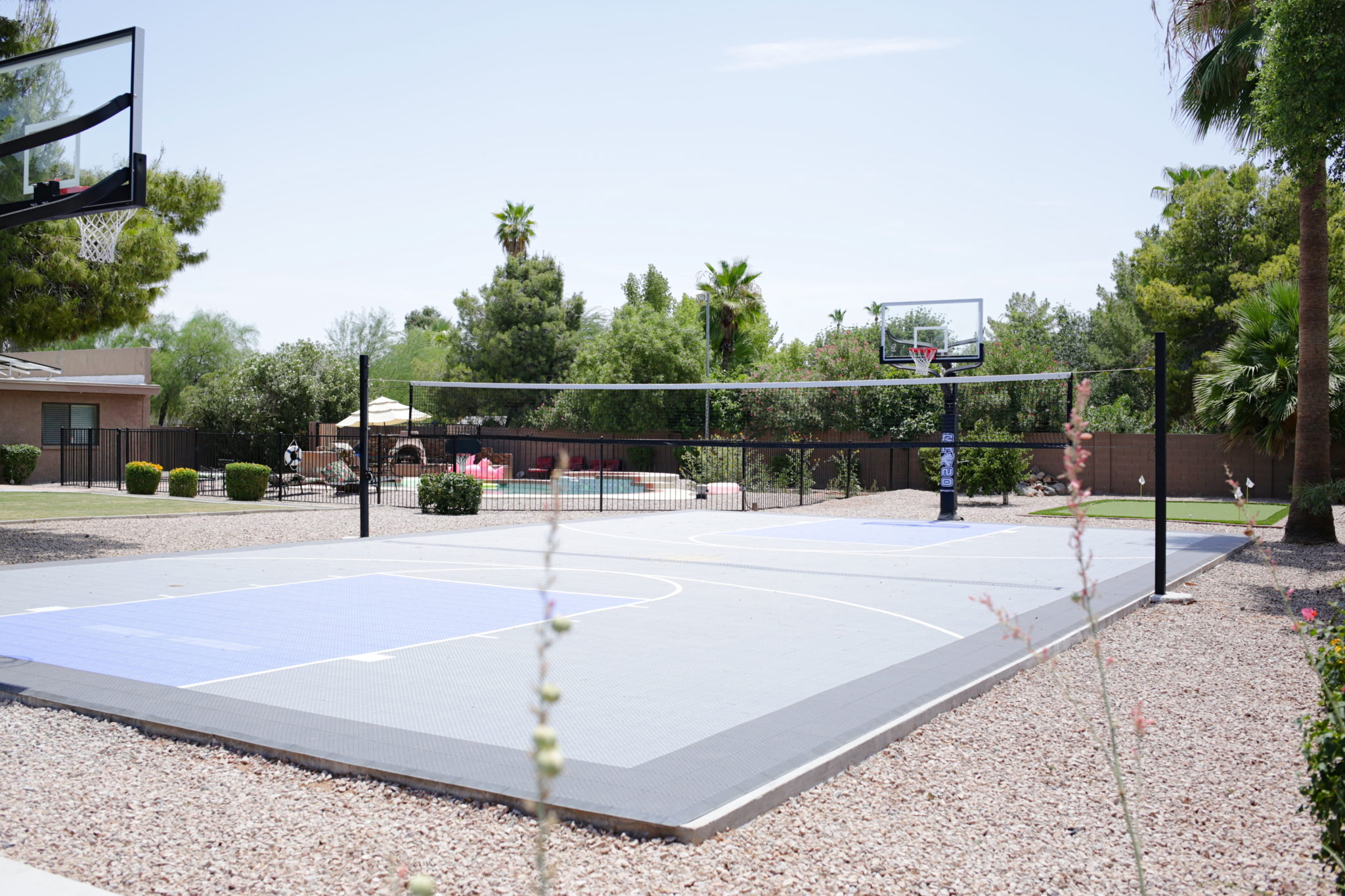 Scottsdale Recovery Center Basketball Court