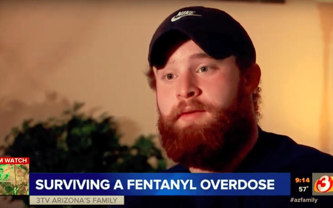 Phoenix area fentanyl overdose survivor speaks on getting clean